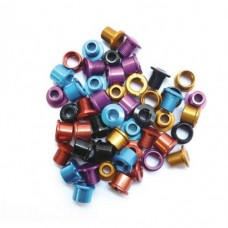 Anodised Alloy Chainring bolts