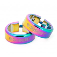 Gusset S2 Lock-on Oil-Slick Collars