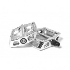 Salt Nylon BMX Pedals Chrome